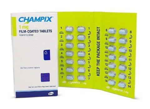 Champix gebruiksaanwijzing